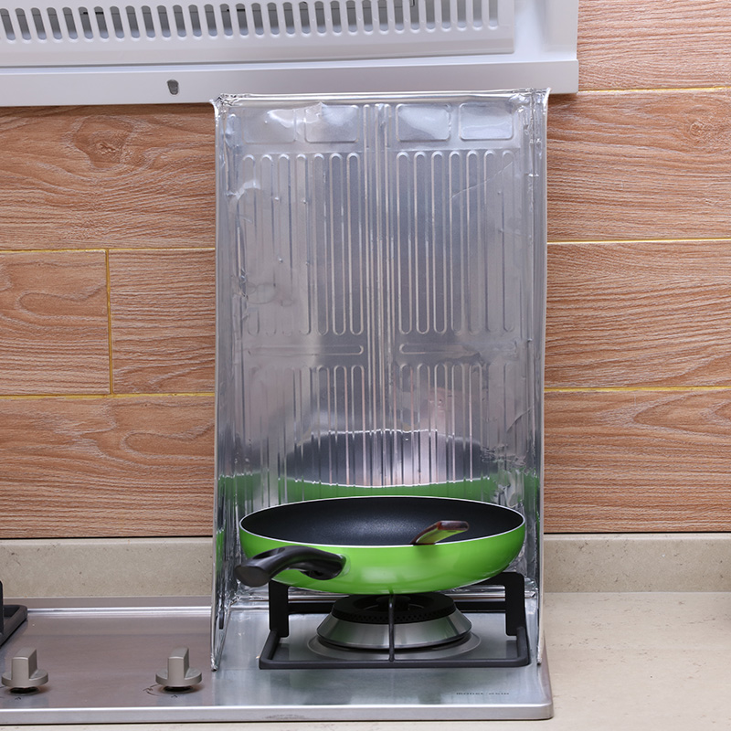 Folha de alumínio de Alta qualidade de óleo de Cozinha Cozinha defletor defletor de calor anti - salpicos de óleo elétrico Placa Placa de defletor de óleo do anti - óleo