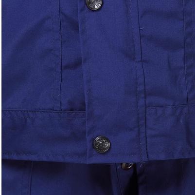 規格品の87式古いセクションネイビーブルー作業服男濃紺作訓服耐摩耗溶接工自動車産業労働服服