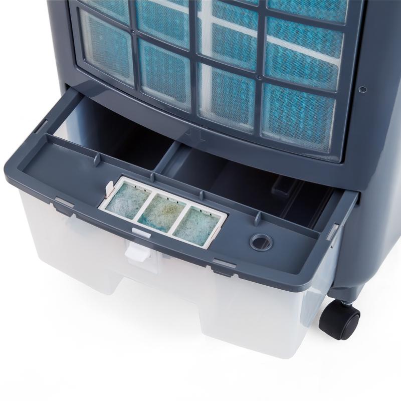 Beleza inteligente controle remoto ar condicionado ventilador ventilador de refrigeração AD120-S tanto para aquecimento e arrefecimento silencioso ventilador de poupança de Energia