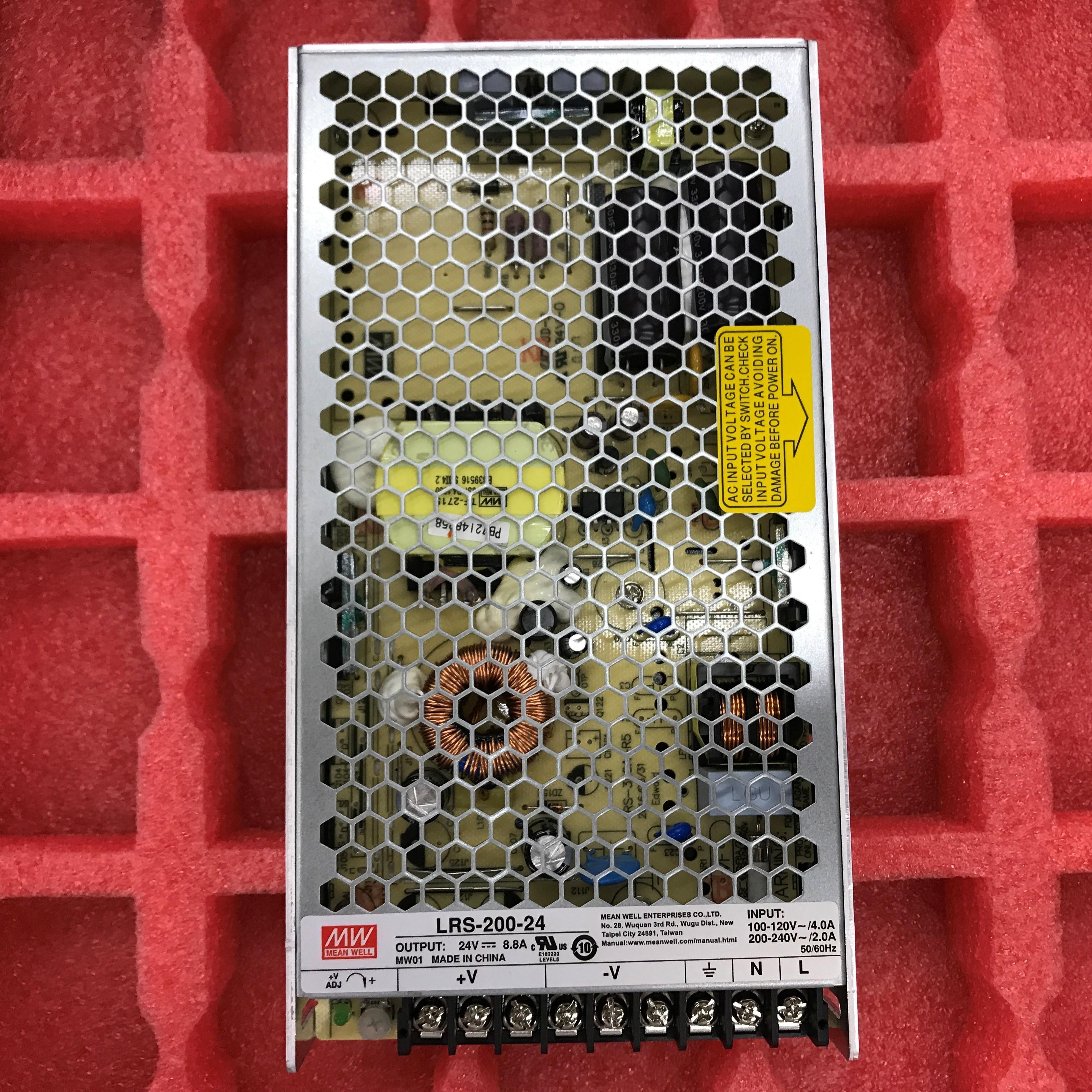 Ταϊβάν - διακόπτη τροφοδοσίας LRS-200-24210W24V8.8A σημείο