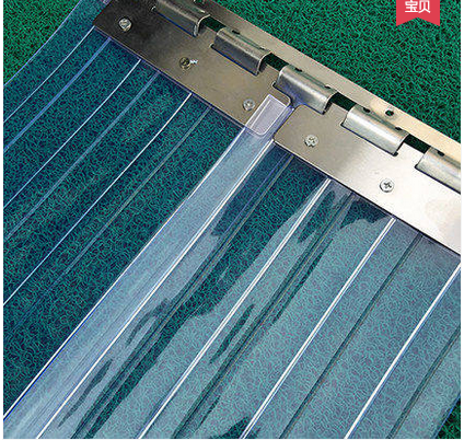 PVC transparent soft curtain plastic curtain wind and dust antifreeze insulation isolation air conditioning cold storage partition curtain