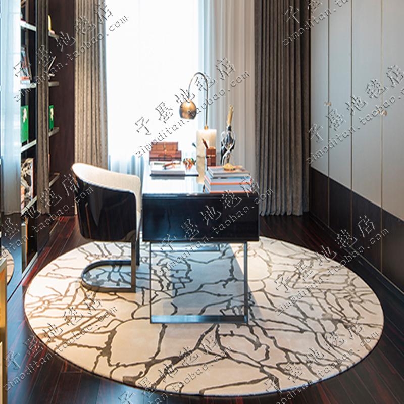 ファッションシンプルな抽象的なイケアの円形の絨毯として、ベッドルーム、ソファ、ベッドルーム、手芸、ベッドルーム