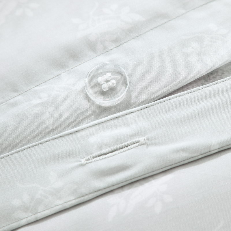 The high-end brand of foreign trade of fresh and elegant ink Chinese bedding 60S wind fan sides Tencel four piece