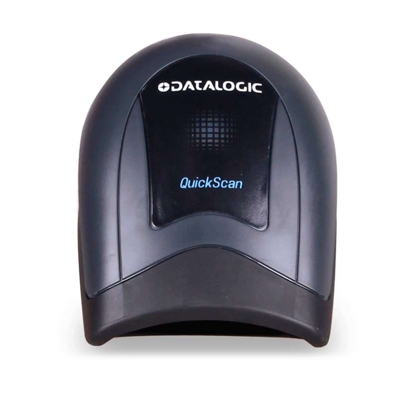 德利捷QD2430二次元バーコードスキャナー有線スキャン銃二次元コード掃除器(USB)コード