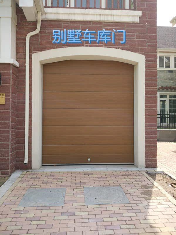 Beijing, Tianjin, Henan, Manual de material eléctrico puerta garaje doble aislamiento térmico y la puerta de cristal de la puerta de Europa