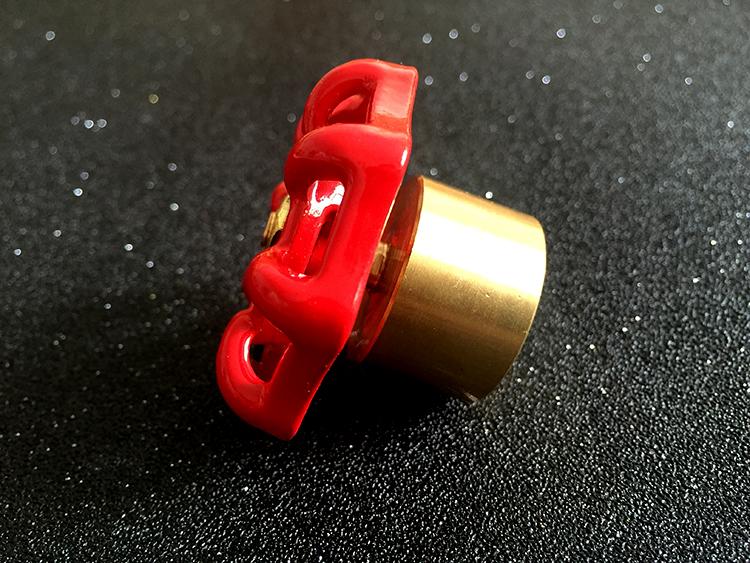 IL contatore dell'Acqua Acqua di rubinetto Tabella Le chiavi prima Valvola chiave la Valvola di chiusura magnetica la chiave di cifratura di una Valvola d'Acqua e la Valvola di Rosso