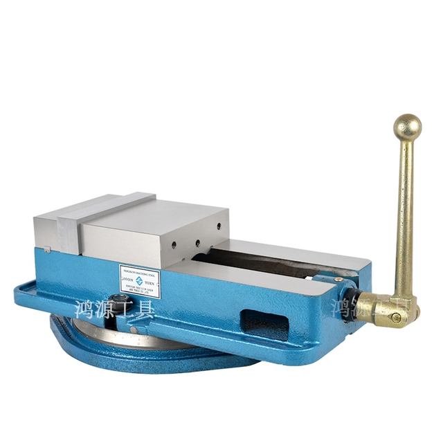 The vise clamp 3-6 inch 8 inch 10 inch shipping Taiwan precision angle fixed milling machine special heavy-duty vise