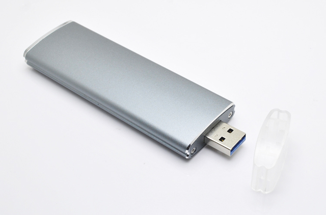 22 REV NGFF usb3.0 festplatte SSD (Solid State M.2*80BKEY Card to inline - mobile Shell 1153