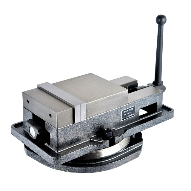 Precision machine vise CNC heavy 4 inch 5 inch 6 inch 8 inch solid angle Taiwan shipping clamp for milling machine
