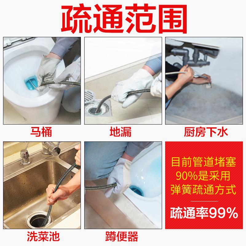 Electric rastrero. Baño para limpiar los drenajes a través de herramientas a través de la fuga del artefacto.