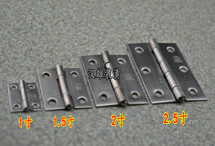1.5 inch /38mm3A authentic 304 stainless steel crafts gifts jewellery box bags small hinge door hinge