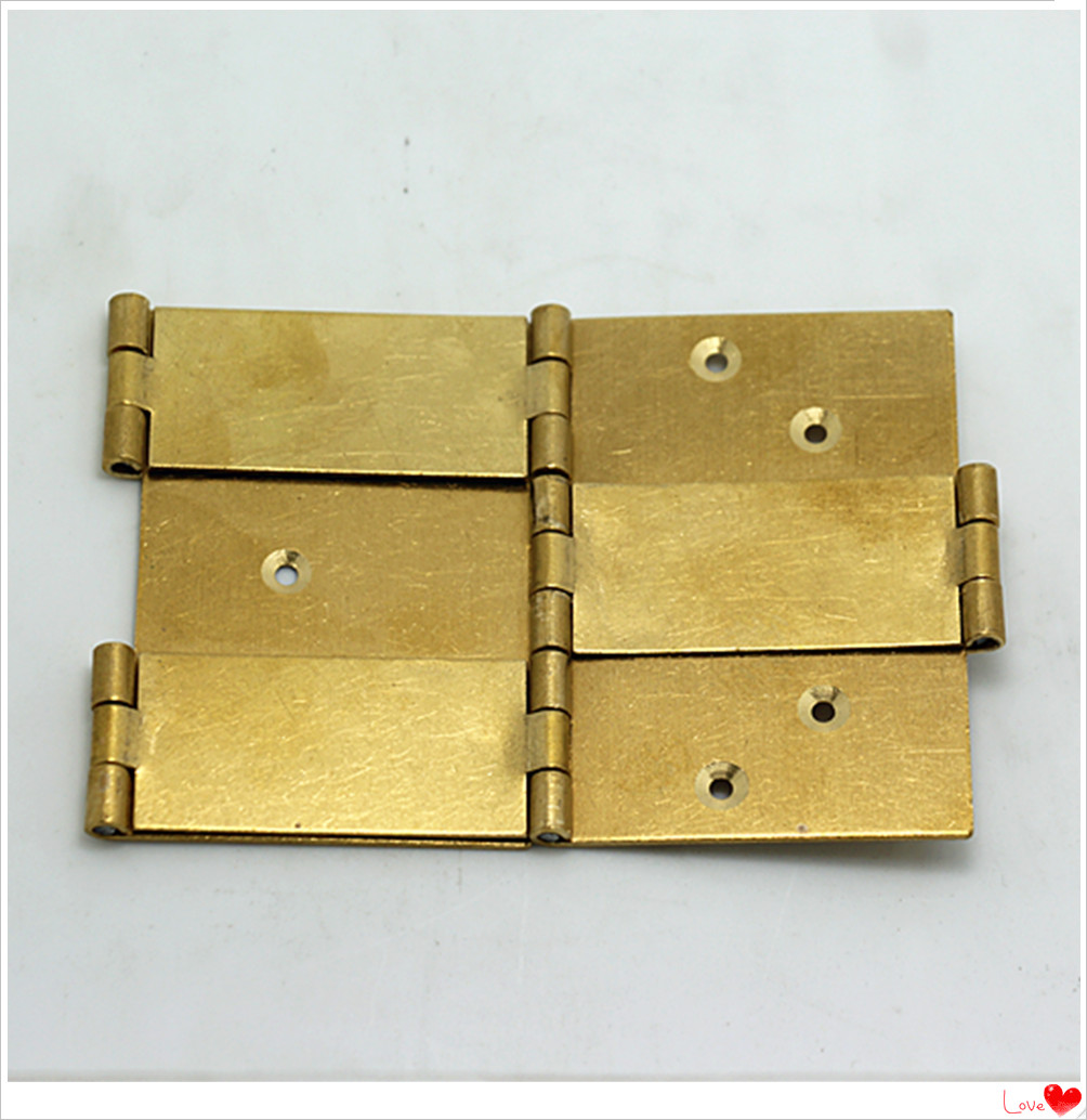Chinese style double screen copper hinge / double face hinge / all copper hinge double axis hinge 4cm