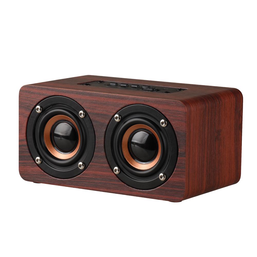 двойной громкоговоритель оригинальные творческие бортовой подлинные деревянные ящики bluetooth карточка ораторов мобильные телефоны, компьютеры, аудио сабвуфер