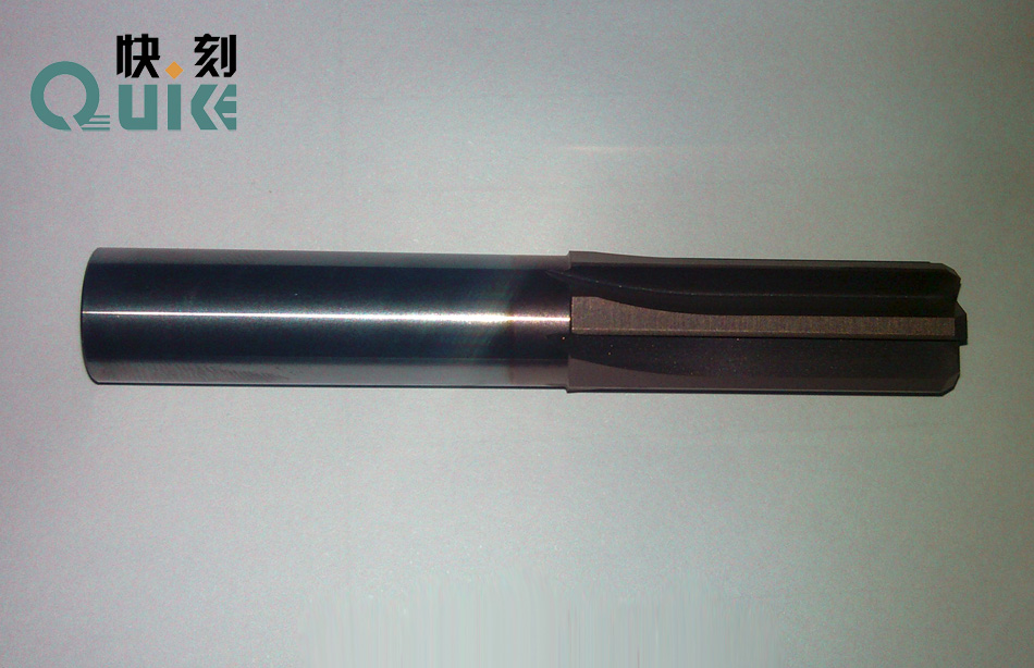 QUIKE quickly carved steel tungsten carbide blade six straight reamer diameter 12.5mm*35* diameter 12mm*80L