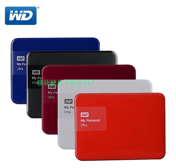Conditionnement de courrier pour envoyer des paquets 2T WD, disque dur mobile 2tb ouest de données 2T WD Ultra2015 le disque dur mobile