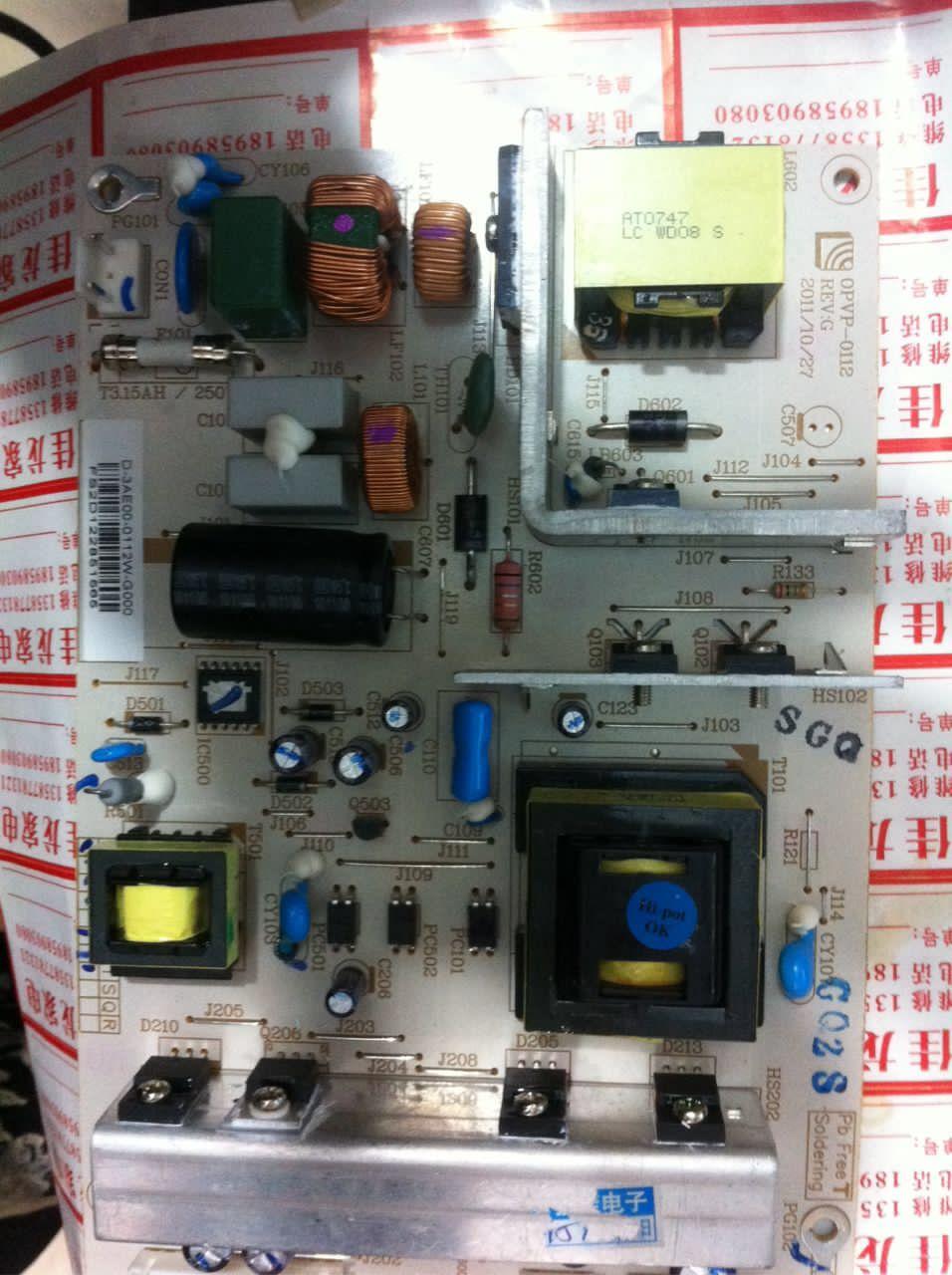 MLT666B/T/BL/BXMLT668TL/L126/32 Universal - LCD - TV macht.