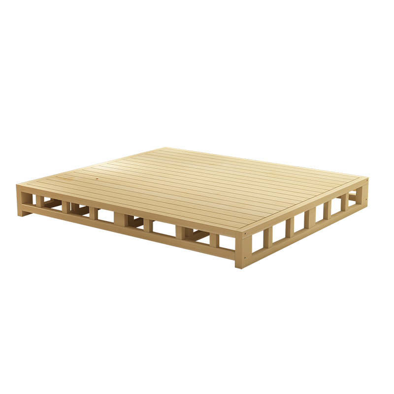 Do double bed single bed board frame special offer simple bed tatami bed can set pine flat bed