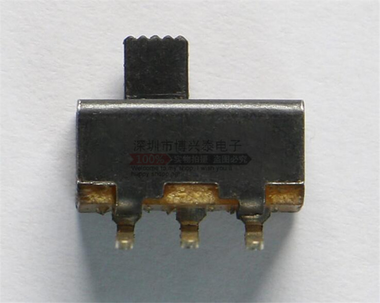 Interruptor basculante SS12F21 de flexión de 3 mm / 2 - 3 pies de largo de 90 grados del interruptor de corredera con trípode mm / MM