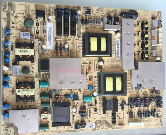 Sharp LCD-46X830A46 télévision à affichage à cristaux liquides de commande de rétroéclairage de panneaux de circuit survolteur et une alimentation haute tension