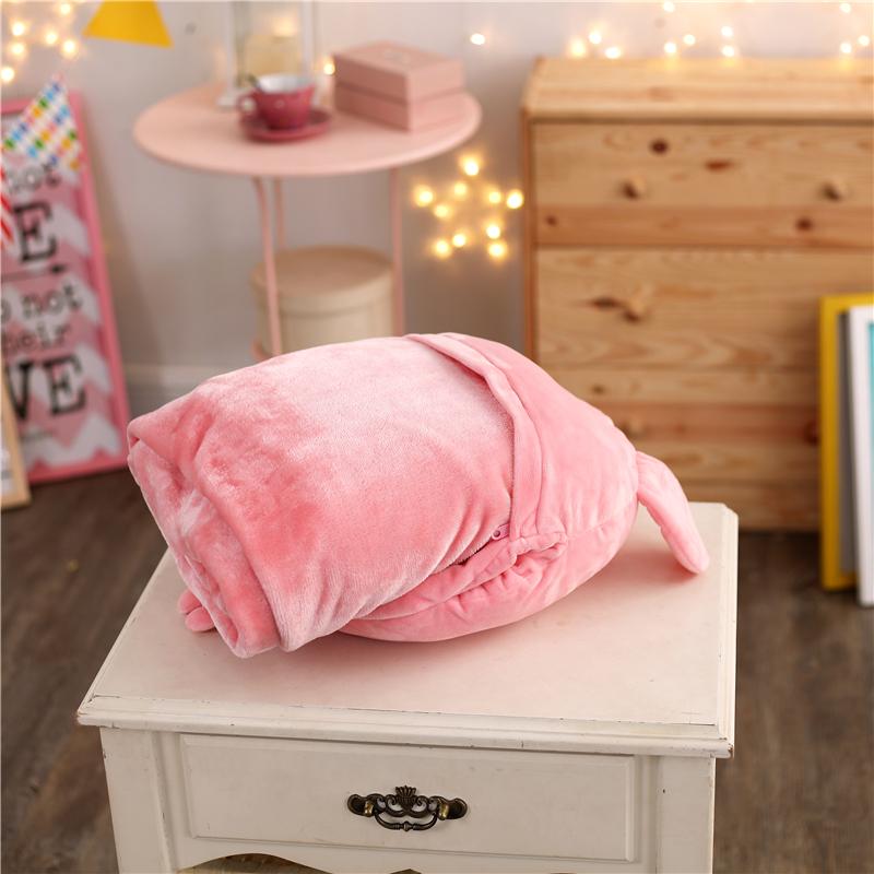 3合1抱き枕クッションとして多くの機能のアニメーションのふかふかにされて、エアコンの毛布の絨毯の毛布の絨毯