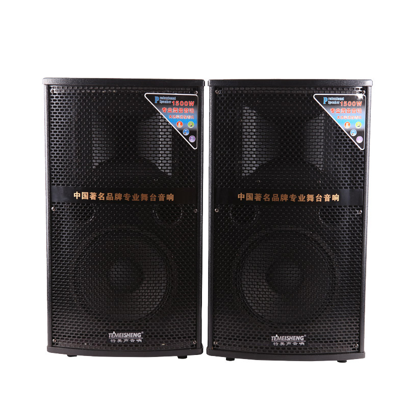 Special sound Temeisheng115T pairs of 220V outdoor stage sound mobile square large power sound box
