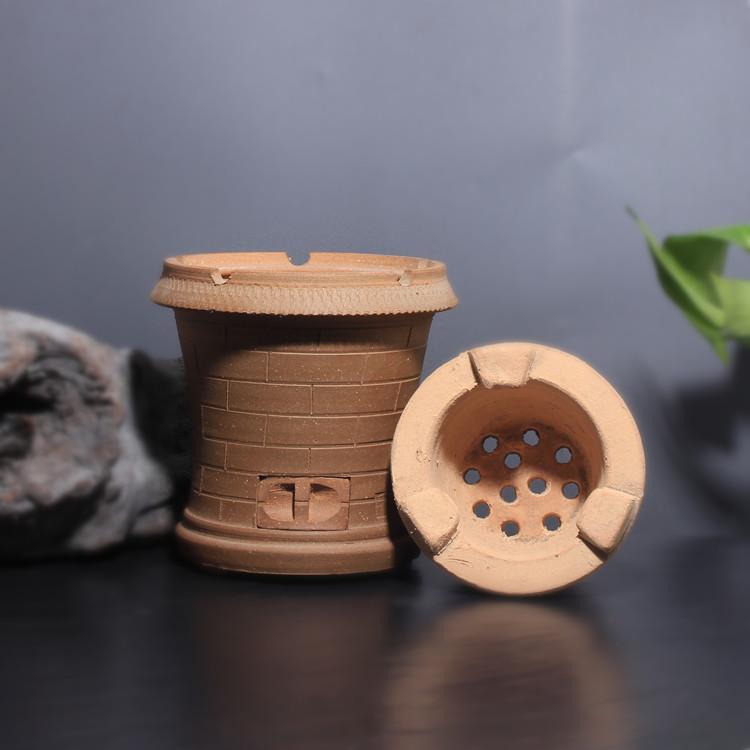 Чаочжоу традиционной ручной терракота печь печь дрова в печи отопления печей ветер здоровья печь печь печь оливковое углерода уголь котла