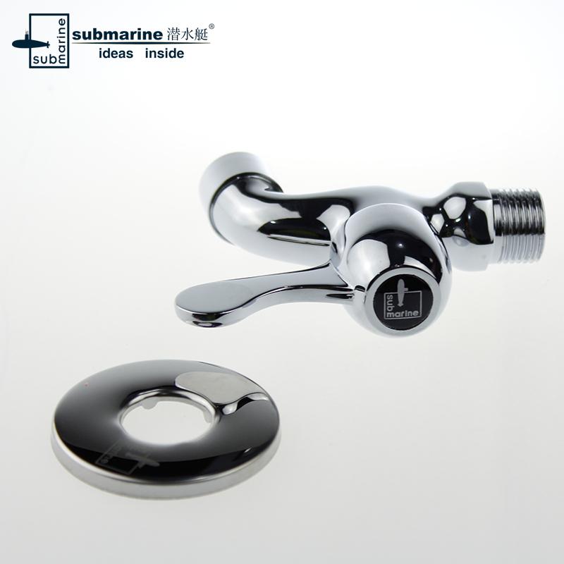 łódź podwodna; odpływ wody / pralek / brass L101X/ wody rdzeń ceramicznych usta / tap tap