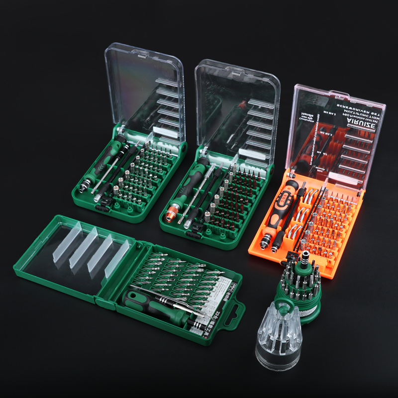Hardware tools six angle industrial grade multi function computer notebook disassemble household maintenance screwdriver set