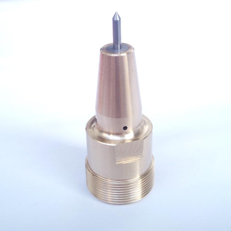 Pneumatische machine markering naald koper. M24x1mm de naald in de kern een diameter van 3 mm naald