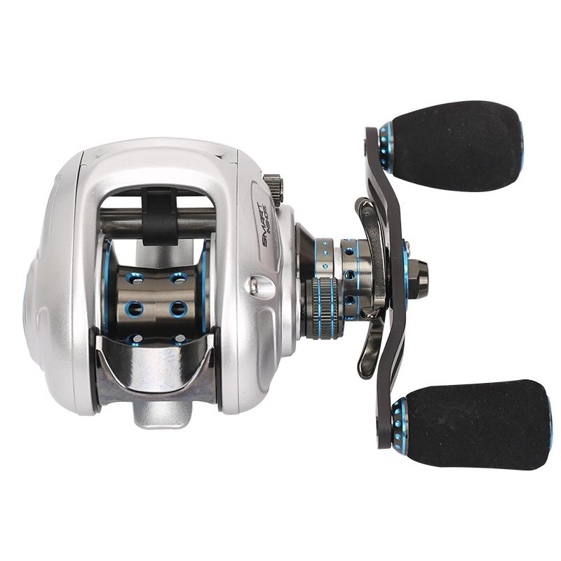 Haibo SMARTINSHORE150MCS Roda Direita de gotas de água magnético DUPLO freio centrífugo 亚轮 carrinho de pesca.