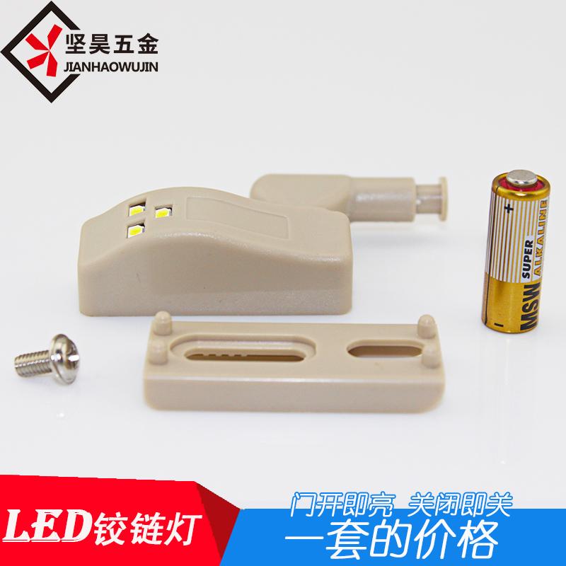Led - scharnier beleuchtung hydraulische scharnier Kabinett dämpfung ein scharnier Licht einer Lampe mini lampen