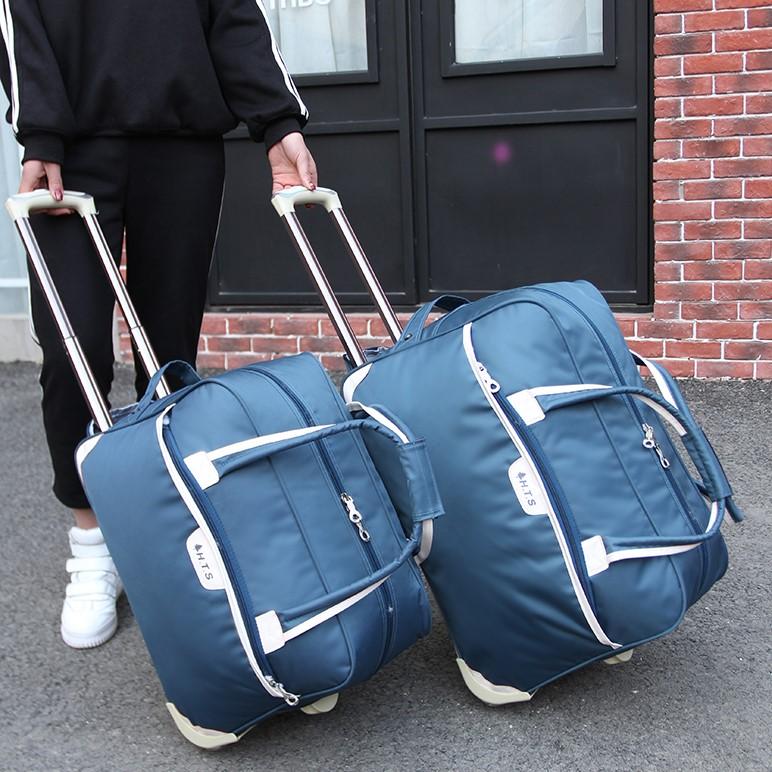 拉杆包旅行女手提行李袋旅行包收纳包男出差商务包大容量旅游包潮