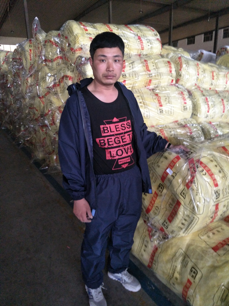 Split rock wool protective clothing fiber glass cotton padded clothes breathable rock rock dust coat