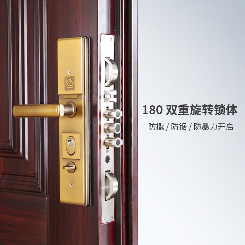 Укрепленная дверь & бог SJ987 дом подчиненной дверь супер класс дверь обратная выпуклая звукоизоляции влаги теплоизоляции окружающей среды теплоизоляции
