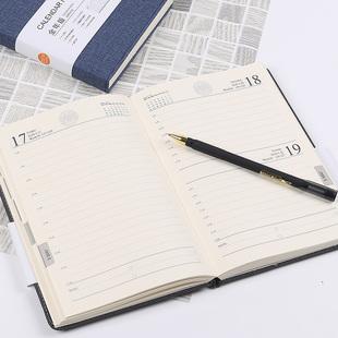 2019日程本A5计划本便携效率手册大号年历笔记本子记事本定制定做