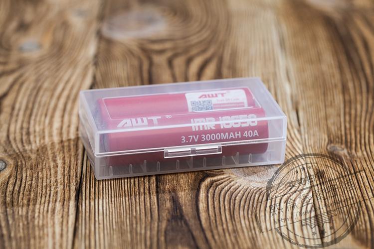 18650 батареи коробку электронных сигарет аккумулятор оборудования OKD, батареи C4 защитное поле капель масла поездки резервных
