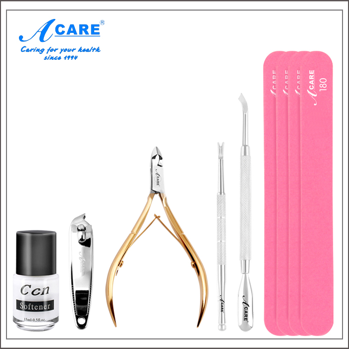 Acare skin scissors, Japanese nail clippers, dead skin pliers, stainless nail tools kit complete set