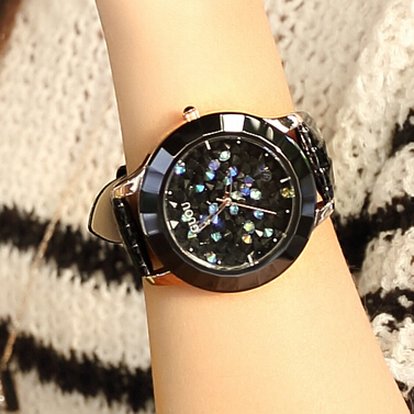 GUOU Korean handsome fashion ladies casual fashion watch dial student table belt quartz watch