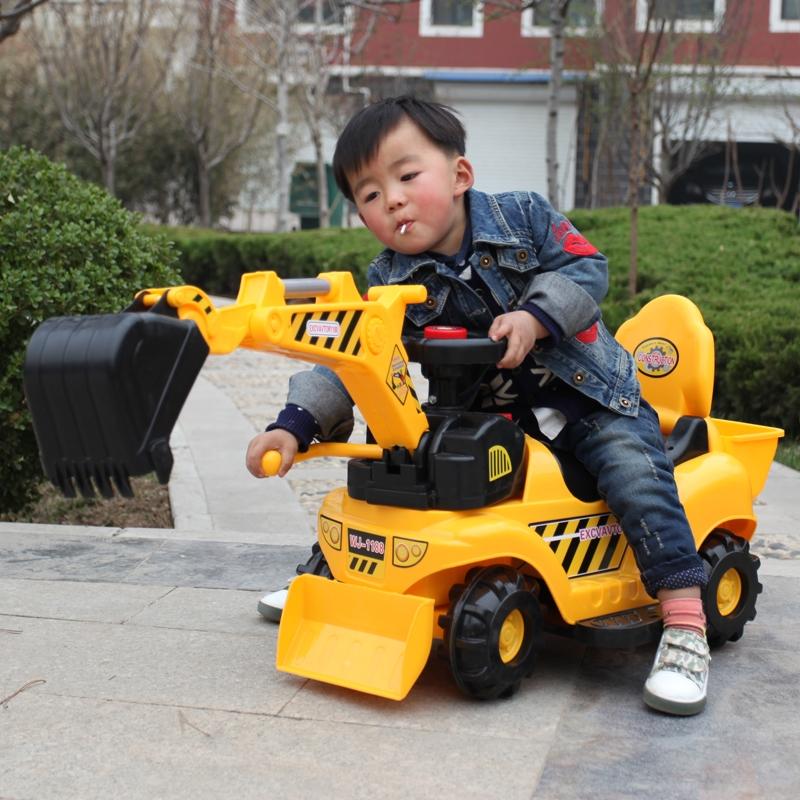 Remote - Bagger - spielzeug - Auto Bagger Haken - elektroauto kindern sandstrand Bagger