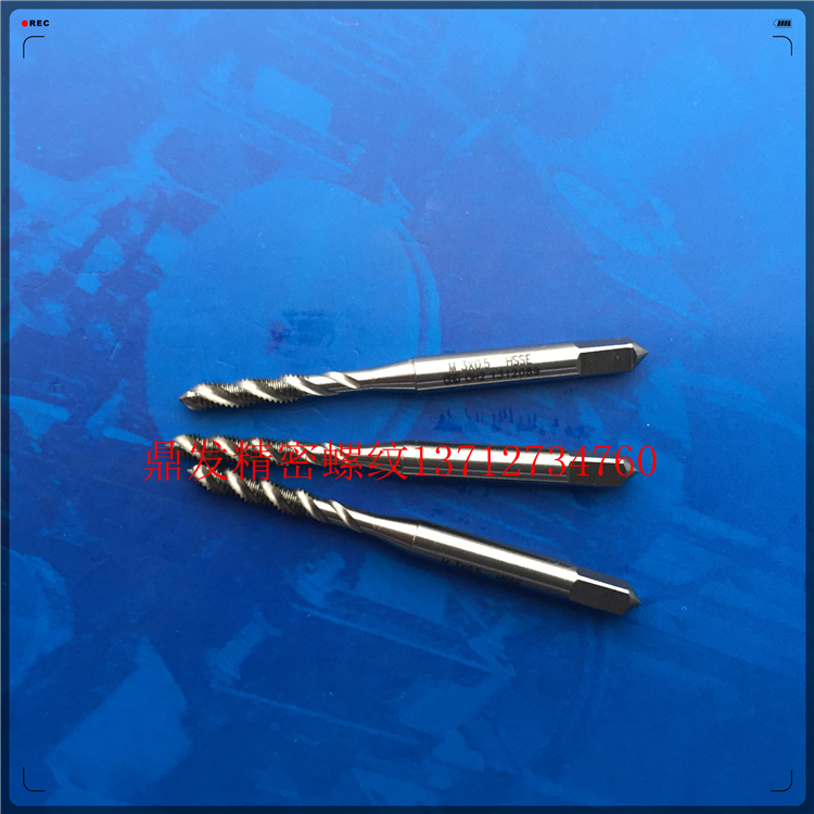 Japan OSG spiral groove wire tapping M3X0.5M3.5X0.6X0.35 steel aluminum plating before increasing 6G machine tap