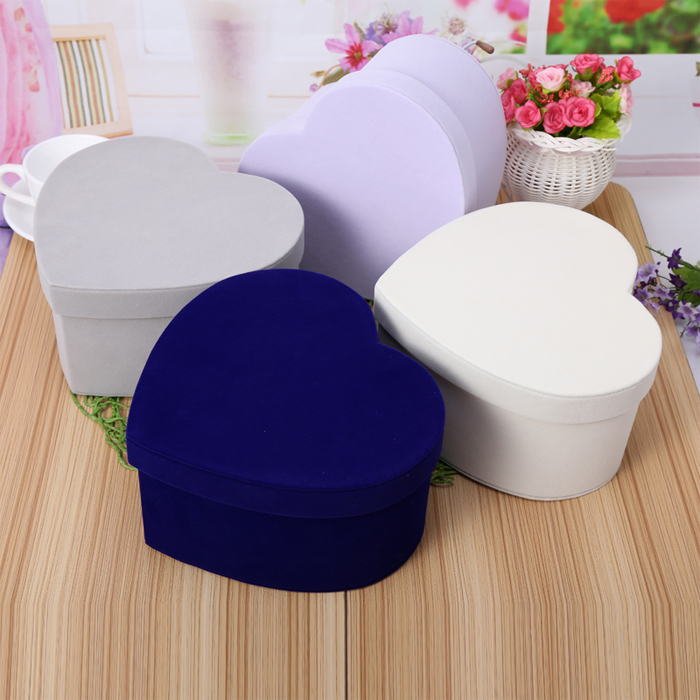 Love eternal flower soap box shaped flannel flower packaging box gift box wholesale mother the Qixi Festival Valentine's Day