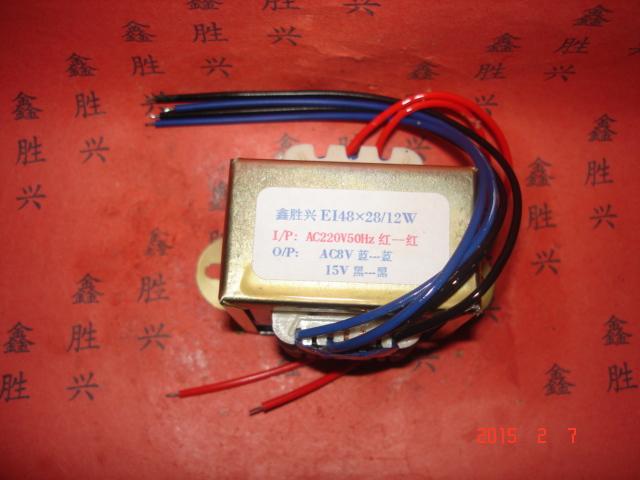 ръкавен филтър, наслаждавайки се на машина, крак - кофа с машина, климатик трансформатор EI48 × 25220V до 15х 8v може да бъде променена,