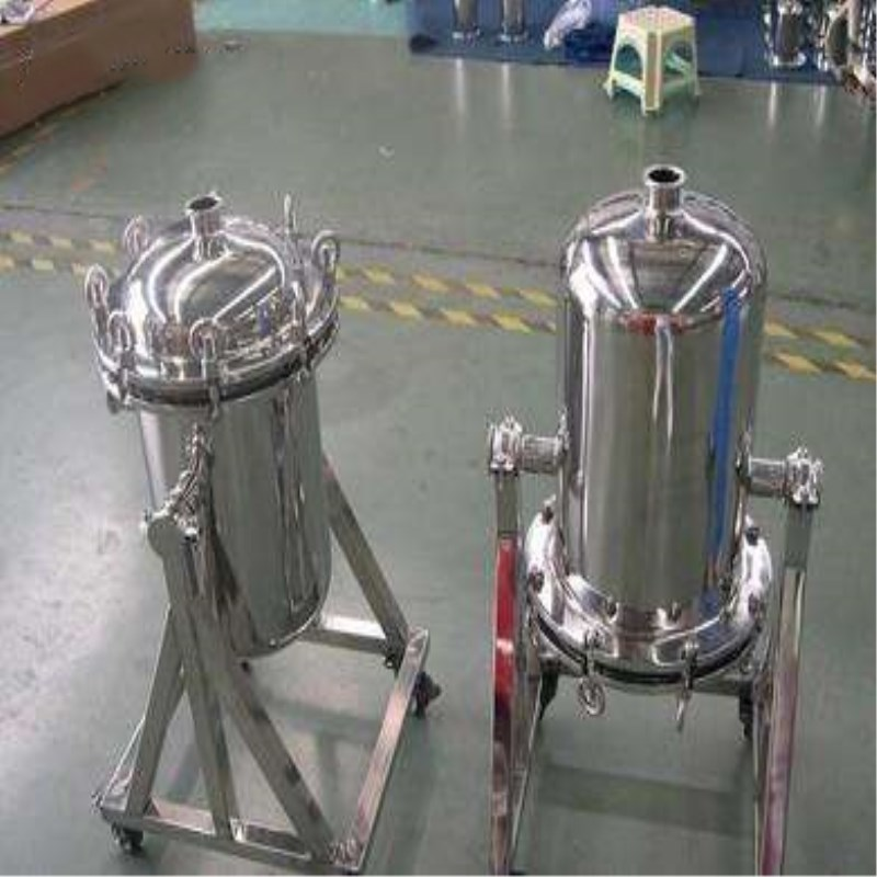 Stainless steel 304 titanium rod filter, pharmaceutical decarbonization filter, sanitary oil band jacket insulation filter