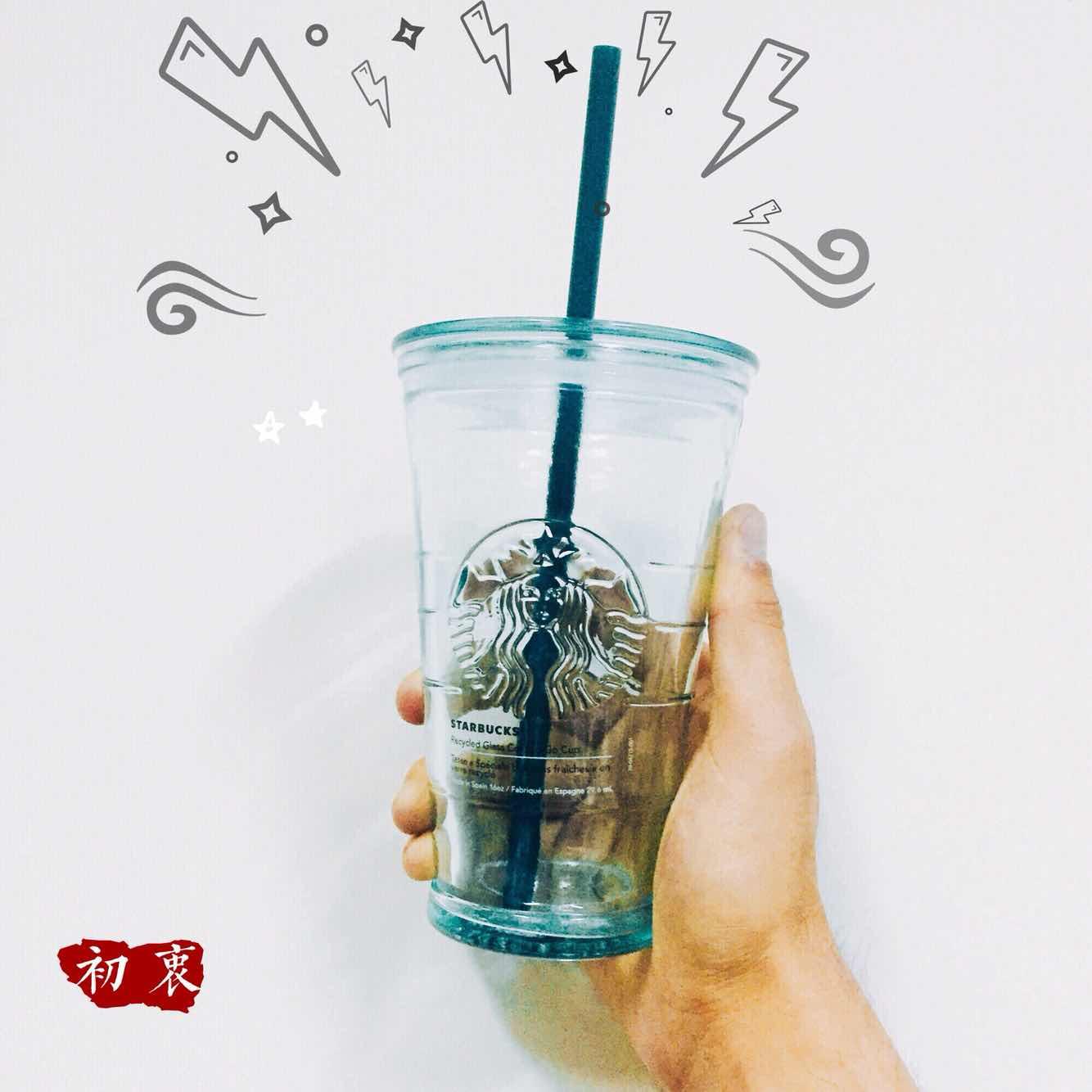 Pipeta de vidrio transparente Navidad Starbucks taza de 2017 la Copa de España de taza de taza de Hurley.