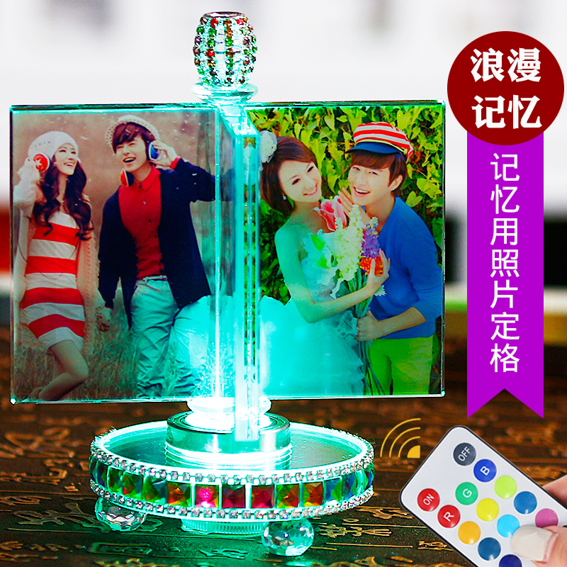 Birthday gift girl girl DIY Korean creative send girlfriend love special romantic photo customization creative novelty