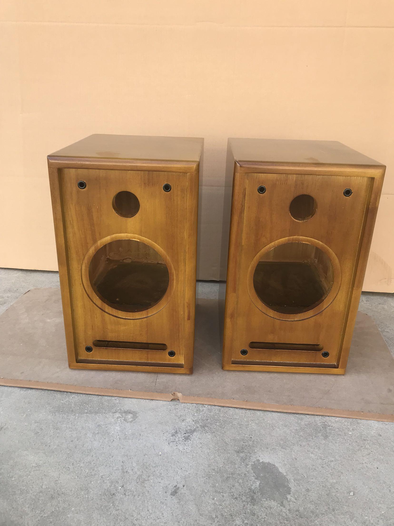 заказ 6,5 дюймов деревянные полки 8 дюймов 2 отдела антиквариат лабиринт оратор пустой контейнер