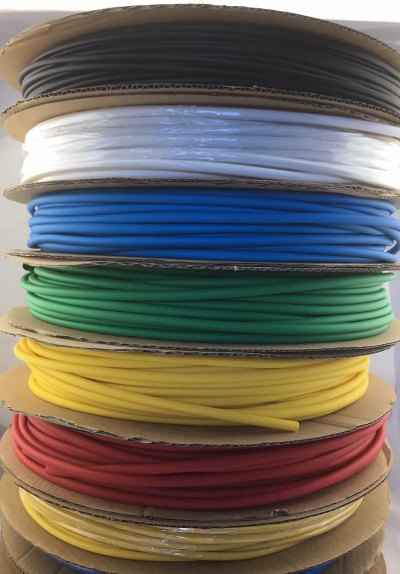 качество на цвят, двойно стена психиатър тръба с лепило за опазване на околната среда, забавители на горенето, водоустойчив 3 пъти свиване на непрозрачен носи целия обем