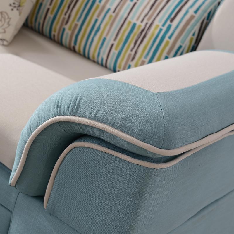 布製ソファ多機能ソファベッド収納できる布製ソファ小型ユニットは簡明な現代洗い張り