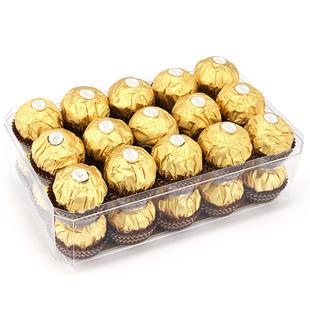 包邮 意大利进口费列罗榛果巧克力T30颗礼盒装 零食节日休闲喜糖