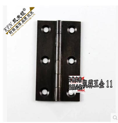 Black hinge cabinet, hinge, hinge, door hinge, pure copper hinge, 2 inch, 2.5 inch, 3 inch hinge, single price